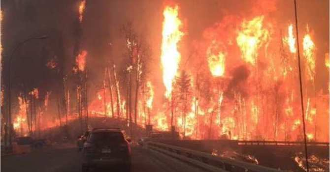 C&MA Response to Fort McMurray Wildfire image