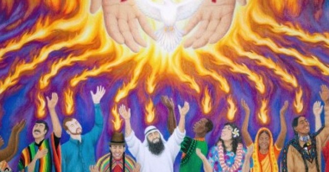 Pentecost and Potluck image
