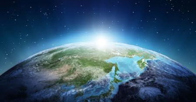 Easter 5C - Earth Day - A blessing is a powerful thing image