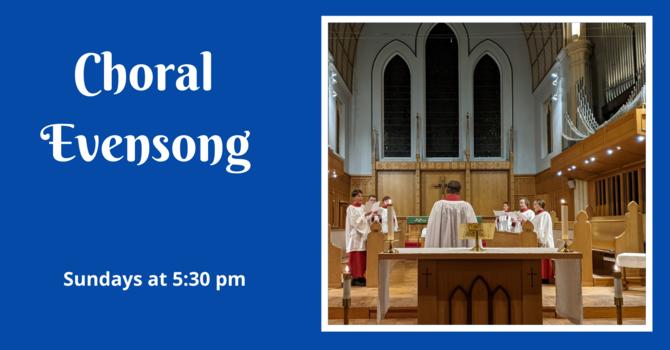 Choral Evensong - December 6, 2020 image
