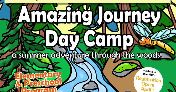Save the Dates - The Amazing Journey Day Camp image