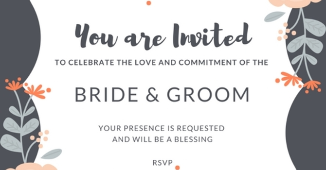 Wedding Invitations and the Blessing of Presence image