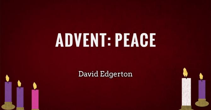 Advent 2: Peace image