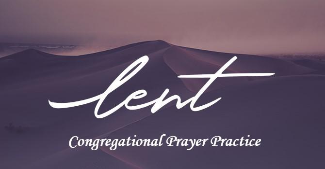 Congregational Prayer Practice image