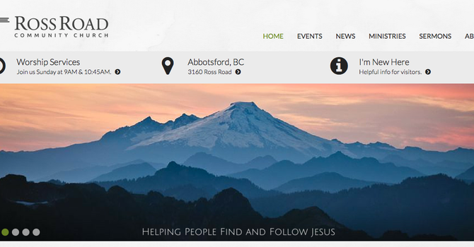 Fresh New Website image
