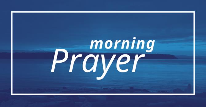 Morning Prayer - March 29, 2020 image