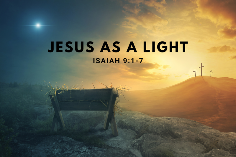 Jesus as a Light