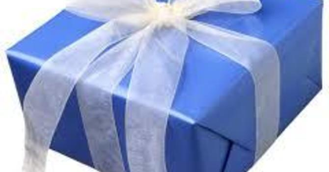 """The """"Un"""" of a Gift"""