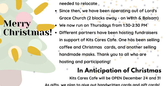 Kits CARES Cafe