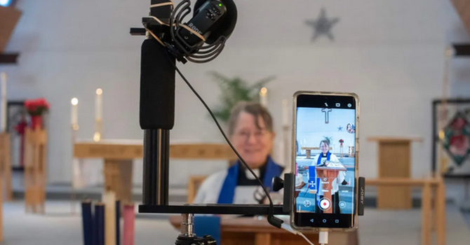 VIRTUAL WORSHIP Territory Anglicans Innovate image