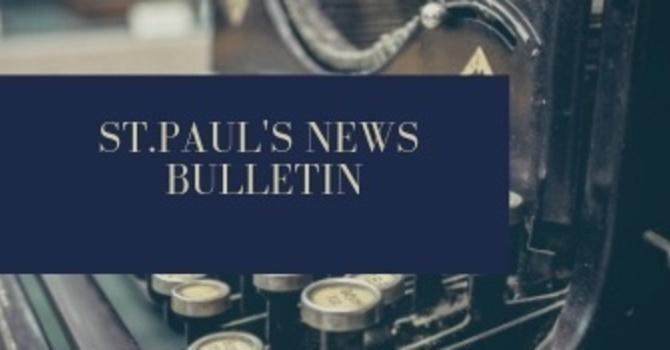 St. Paul's January 13th News Bulletin image