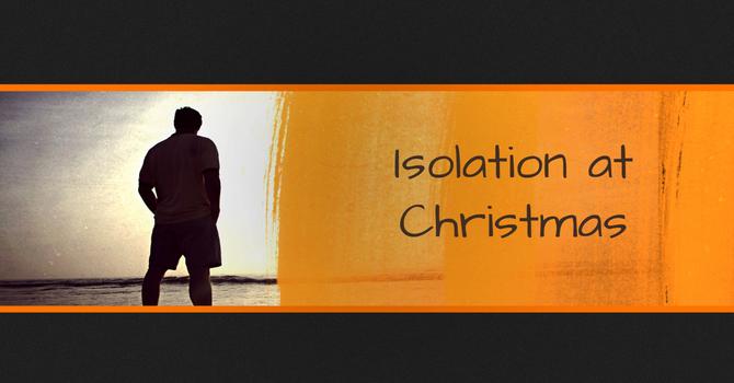 Isolation at Christmas image