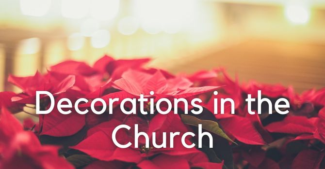 Decorating the Church for Christmas image