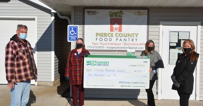 WESTconsin Credit Union makes a big contribution to community image