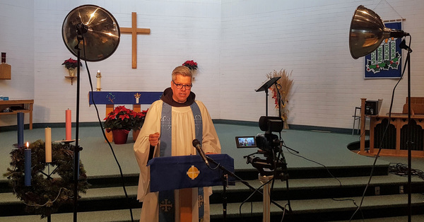 Recording Online Services at St. Augustine's Anglican Church Parkland