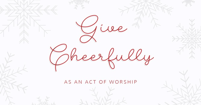 Christmas Missionary Offering image