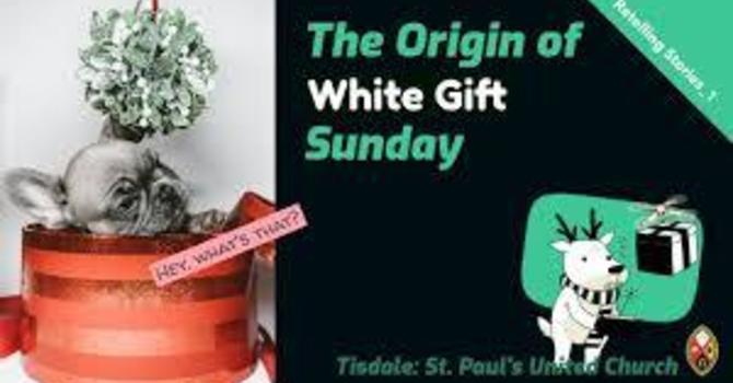 White Gift Sunday Explained image
