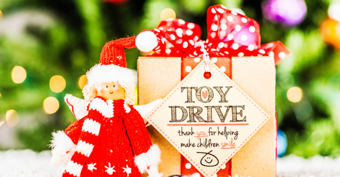 Supporting our Community: Toy Drive! image