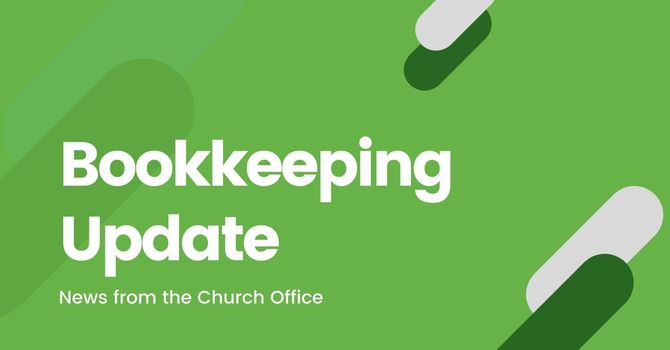 Bookkeeping Update image