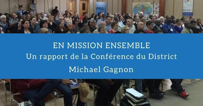 En mission ensemble: un rapport de la Conférence du District image