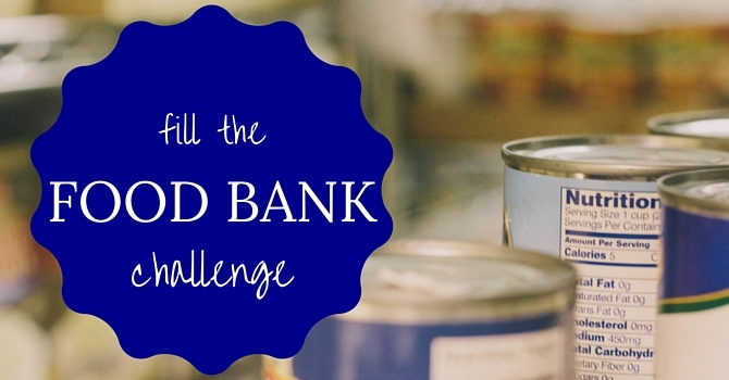 """""""Fill The Food Bank"""" Challenge image"""