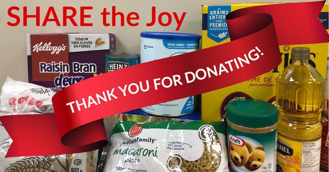 Thanks for helping SHARE the Joy! image