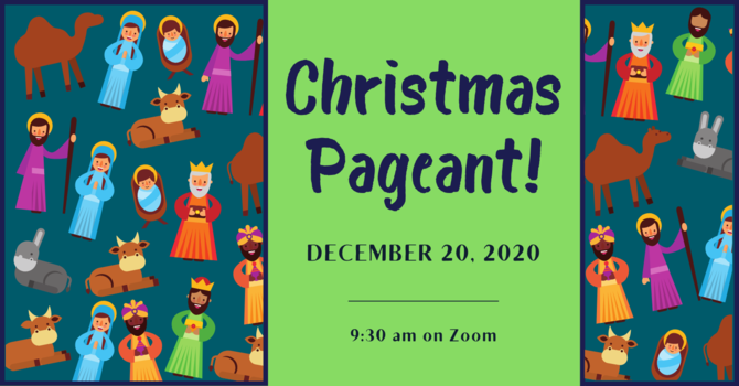 Christmas Pageant on Zoom image