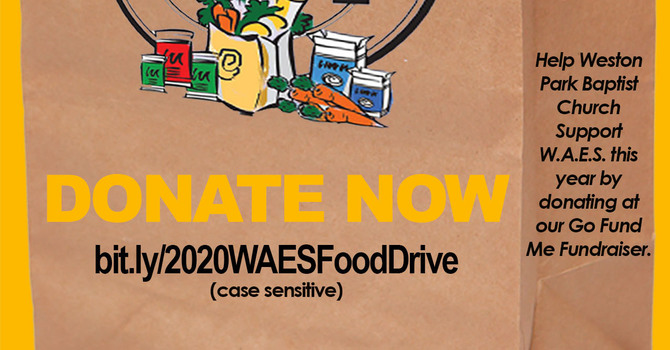 Fabulous Food Drive News! image
