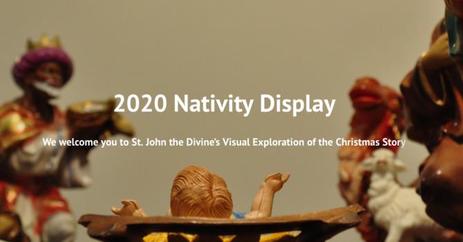 Parish Nativity Display Goes Online image