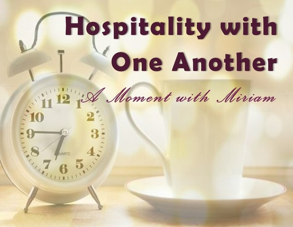 Hospitality with One Another
