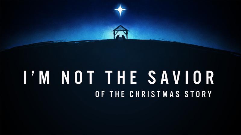 I'm Not the Savior
