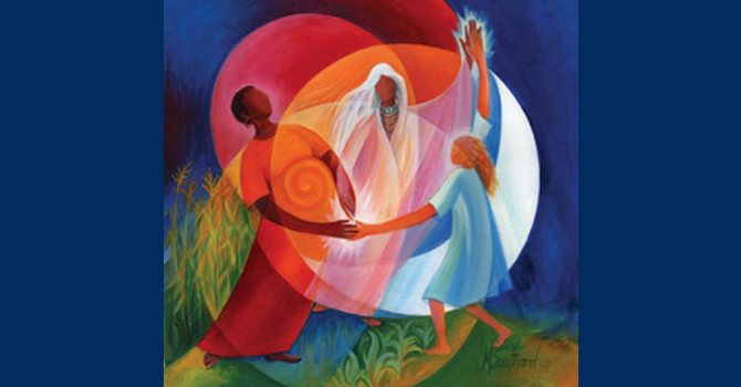 Trinity: Dancing with God image