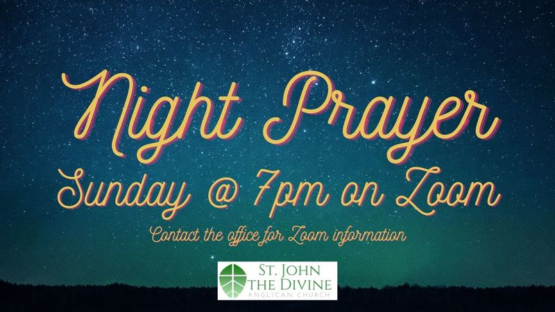 December 13 Night Service (By Zoom at 7pm)