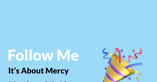 It's About Mercy