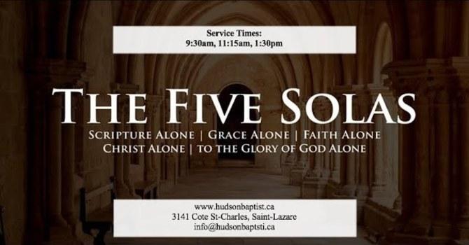 The Five Solas - 4 - Christ Alone