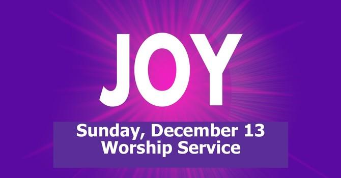 Sunday, December 13 Worship Service image