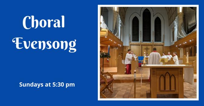 Choral Evensong - December 13, 2020 image