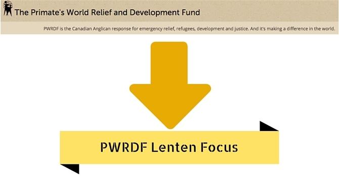 PWRDF Focus during Lent image