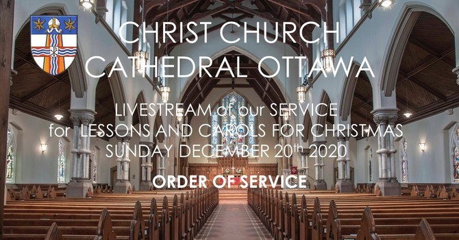 Order of  Service for Nine Lessons and Carols for Christmas
