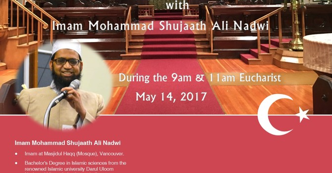 Imam Mohammad Shujaath at St. Paul's image