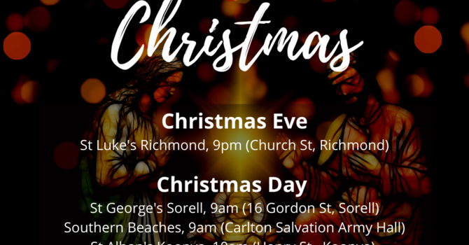 Christmas Services 2020 image