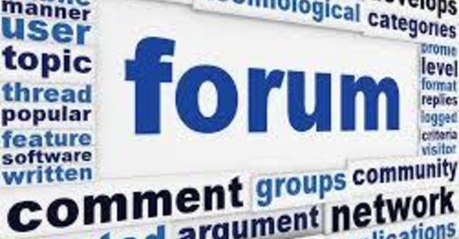 Sunday Forum