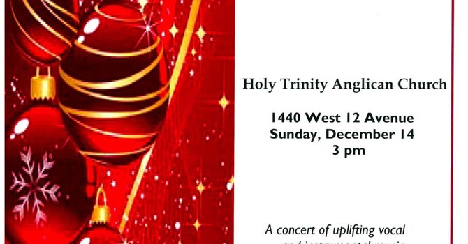 Tidings of Comfort and Joy - Christmas Concert at Holy Trinity, Vancouver image