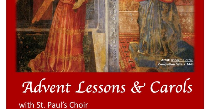 Lessons and Carols for Advent at St. Paul's image
