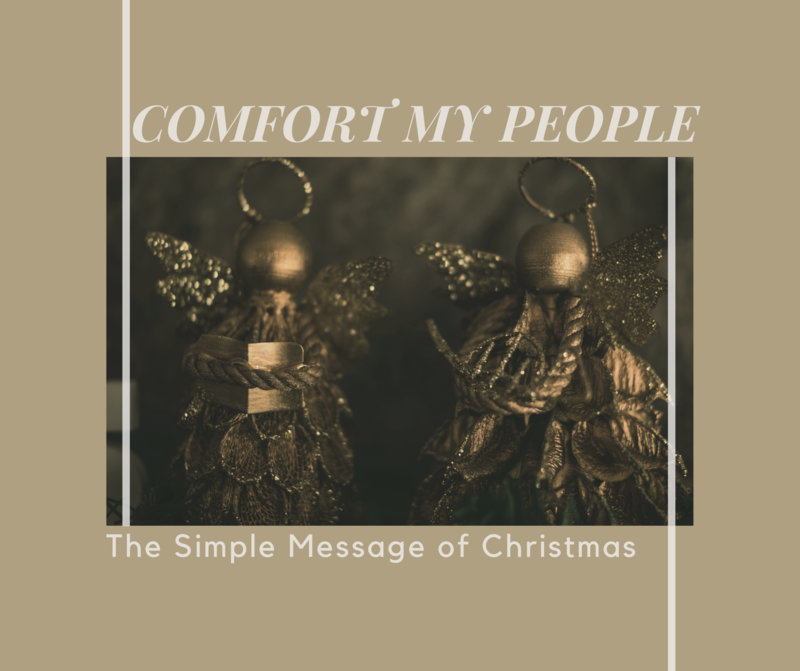 The Comfort of Advent
