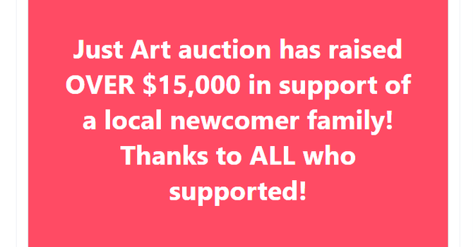 Just Art Fundraiser Update image