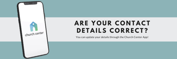 Are your contact details up to date?