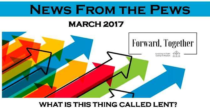 News from the Pews - March image