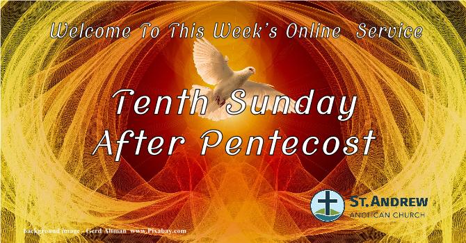 August 9, 2020  On-Line Sunday Service image