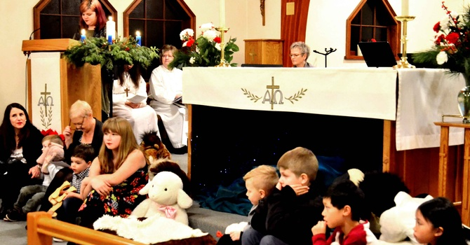 Christmas Eve Family Worship Service